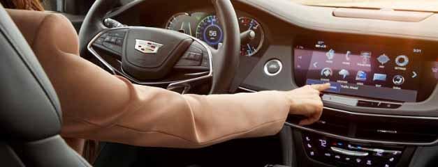 «Умный руль» нового Cadillac CT6 с инфракраснымие и светодиодными компонентами OSRAM